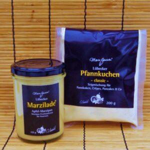 Marzilade 225 g Gläser & Pfannkuchen